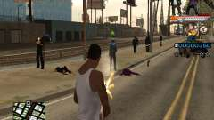 C-HUD Ghetto Live для GTA San Andreas