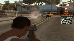 C-HUD by Fernando Delgado для GTA San Andreas