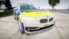 BMW 525d F11 2014 Police [ELS] для GTA 4