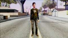 Ellie from The Last Of Us v3 для GTA San Andreas