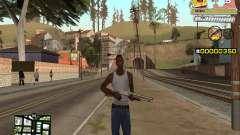 C-HUD Sponge Bob для GTA San Andreas
