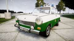 Trabant 601 deluxe 1981 Police