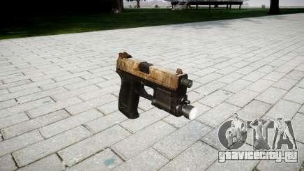 Пистолет HK USP 45 dusty для GTA 4