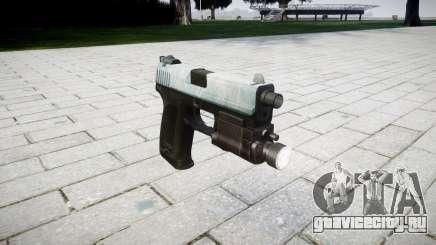 Пистолет HK USP 45 icy для GTA 4
