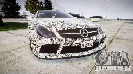 Mersedes-Benz SL65 AMG 2009 Sharpie для GTA 4
