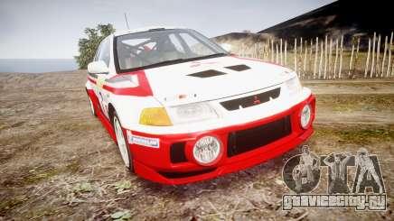 Mitsubishi Lancer Evolution VI Rally Edition для GTA 4