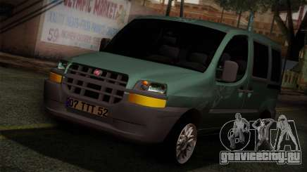 Fiat Doblo 2005 для GTA San Andreas