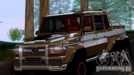 BRABUS 700 - Mercedes-Benz G63 AMG 6x6 для GTA San Andreas