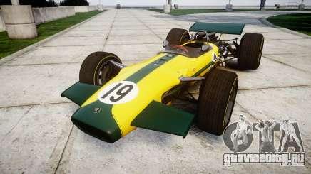 Lotus Type 49 1967 [RIV] PJ19-20 для GTA 4