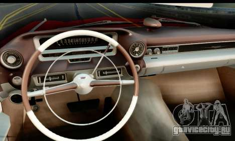 Cadillac Eldorado Biarritz Convertible 1959 для GTA San Andreas вид сзади слева