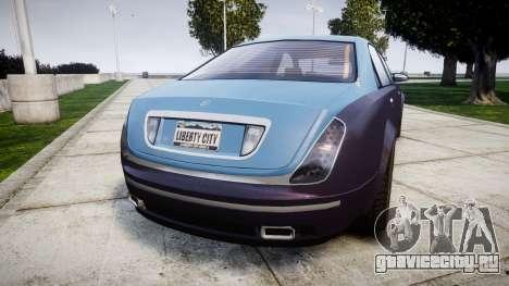 Enus Cognoscenti VIP для GTA 4 вид сзади слева