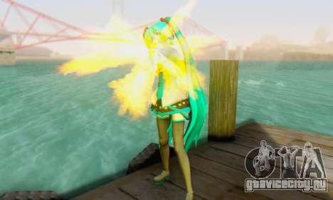 Hatsune Miku Dreamy Theater для GTA San Andreas третий скриншот