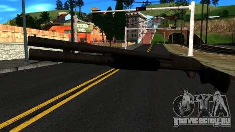 Чёрный MP-133 Без Блеска для GTA San Andreas