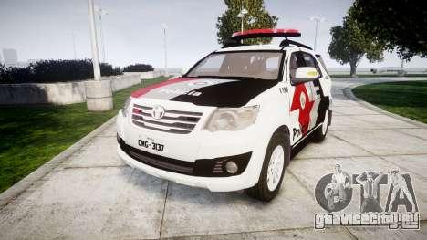 Toyota Hilux SW4 2015 Forca Tatica [ELS] для GTA 4