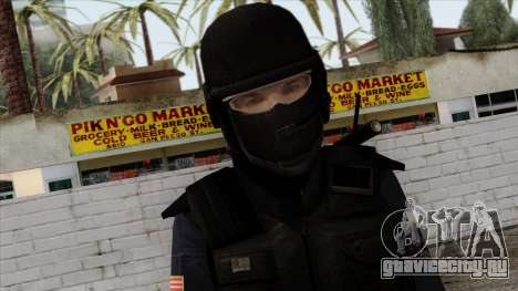 Police Skin 12 для GTA San Andreas третий скриншот
