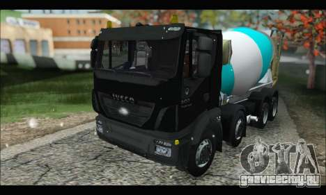 Iveco Trakker 2014 Concrete Snow (IVF & ADD) для GTA San Andreas