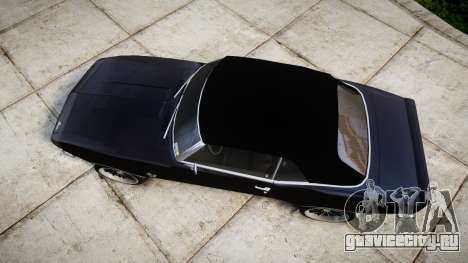 Chevrolet Camaro Mk.I 1968 rims2 для GTA 4 вид справа