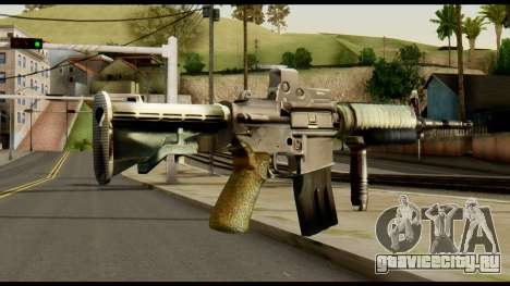 SOPMOD from Metal Gear Solid v3 для GTA San Andreas второй скриншот