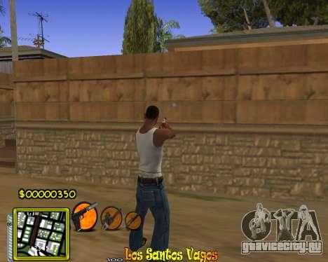C-HUD Vagos Gang для GTA San Andreas второй скриншот