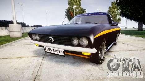 Opel Manta A Black Magic для GTA 4