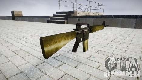 Винтовка M16A2 olive для GTA 4 второй скриншот