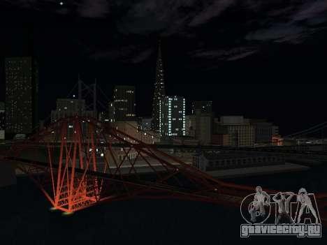 Real California Timecyc для GTA San Andreas