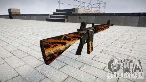 Винтовка M16A2 tiger для GTA 4 второй скриншот
