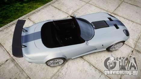 Bravado Banshee GTR для GTA 4 вид справа