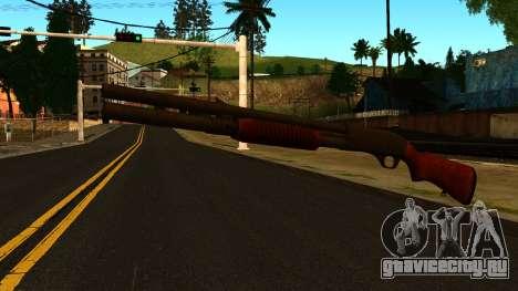 Деревянный MP-133 с Блеском для GTA San Andreas второй скриншот