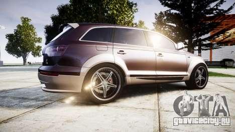 Audi Q7 2009 ABT Sportsline [Update] rims2 для GTA 4 вид слева