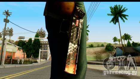 Kill Em All Desert Eagle для GTA San Andreas третий скриншот