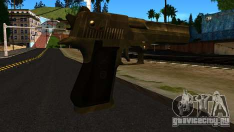 Desert Eagle from GTA 4 для GTA San Andreas второй скриншот