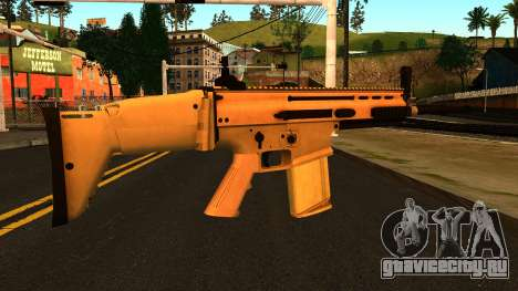 FN SCAR-H from Medal of Honor: Warfighter для GTA San Andreas второй скриншот
