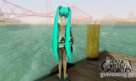 Hatsune Miku Dreamy Theater для GTA San Andreas пятый скриншот