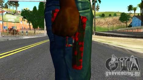 Pistol with Blood для GTA San Andreas