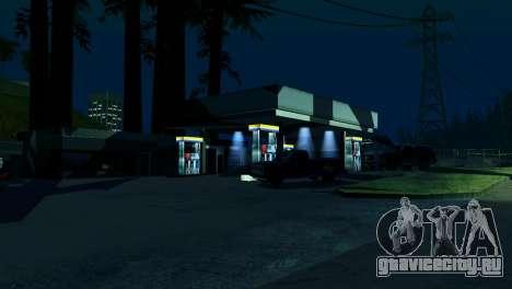 Оживление заправок San Fierro Country для GTA San Andreas третий скриншот