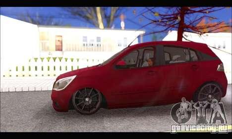 Chevrolet Agile Tunning для GTA San Andreas вид сзади