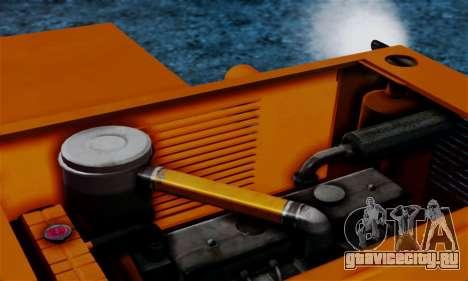 FMZ BIZON Super Z056 1985 Orange для GTA San Andreas вид изнутри