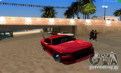 Новые маршруты транспорта для GTA San Andreas девятый скриншот