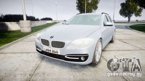 BMW 525d F11 2014 Facelift [ELS] Unmarked для GTA 4