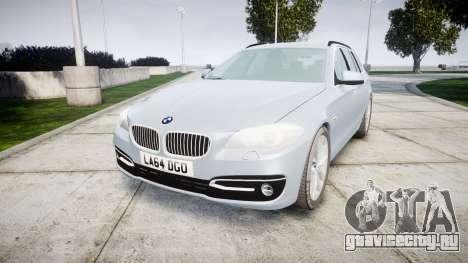 BMW 525d F11 2014 Facelift [ELS] Unmarked для GTA 4