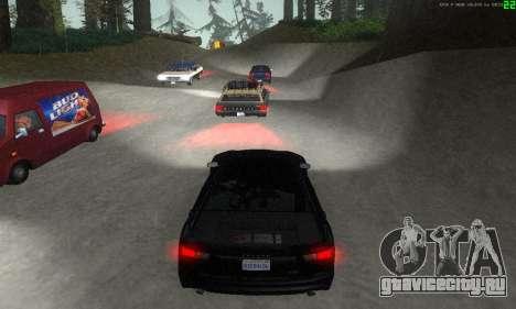 Новые маршруты транспорта для GTA San Andreas десятый скриншот