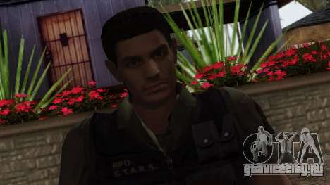 Resident Evil Skin 2 для GTA San Andreas третий скриншот