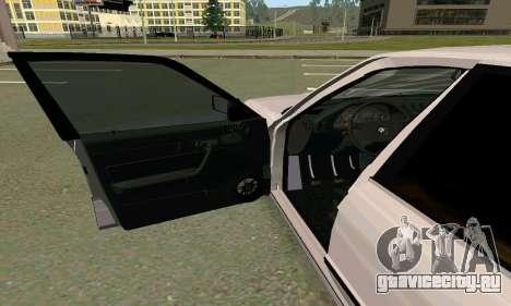BMW 525 Turbo для GTA San Andreas вид справа