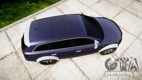 Audi Q7 2009 ABT Sportsline [Update] rims1 для GTA 4 вид справа
