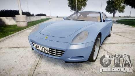 Ferrari 612 2007 Hamann для GTA 4