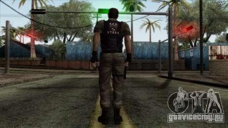 Resident Evil Skin 2 для GTA San Andreas второй скриншот