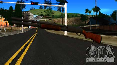 Деревянный MP-133 Серебряный для GTA San Andreas