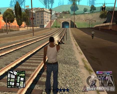 COSMOS C-HUD для GTA San Andreas