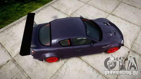 Mazda RX-8 Duck Edition для GTA 4 вид справа